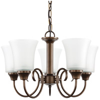 Sea Gull Holman 5 Light Chandelier in Bell Metal Bronze 39808BLE-827