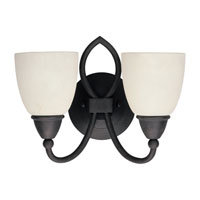 Sea Gull Lighting Pemberton 2 Light Bath Vanity in Peppercorn 40074-799