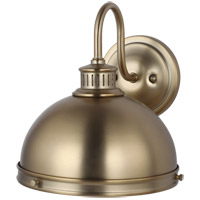 Pratt Street 1 Light 10 inch Satin Bronze Wall Bath Fixture Wall Light
