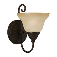 Sea Gull Lighting Montclaire 1 Light Bath Vanity in Olde Iron 41105-72