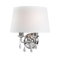 Sea Gull West Town 2 Light Bath Light in Chrome 4110502BLE-05