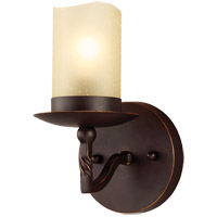 Trempealeau 1 Light 5 inch Roman Bronze Bath Light Wall Light