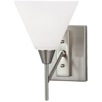 Ashburne 1 Light 7 inch Brushed Nickel Bath Light Wall Light in Standard