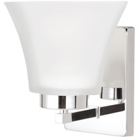 Sea Gull Bayfield 1 Light Bath Light in Chrome 4111601-05