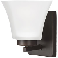 Bayfield 1 Light 5 inch Burnt Sienna Bath Light Wall Light in Fluorescent