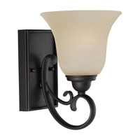 Del Prato 1 Light 7 inch Chestnut Bronze Bath Vanity Wall Light