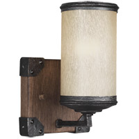Sea Gull 4113301-846 Dunning 1 Light 5 inch Stardust Wall Sconce Wall Light