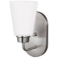 Kerrville 1 Light 5 inch Brushed Nickel Wall Bath Wall Light in Standard