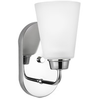 Sea Gull 4115201EN3-05 Kerrville 1 Light 5 inch Chrome Wall Bath Fixture Wall Light
