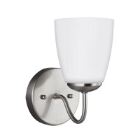 Sea Gull 4116601-962 Bannock 1 Light 5 inch Brushed Nickel Bath Vanity Light Wall Light