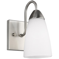 Seville 1 Light 5 inch Brushed Nickel Wall Bath Fixture Wall Light