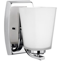 Waseca 1 Light 5 inch Chrome Wall Bath Fixture Wall Light