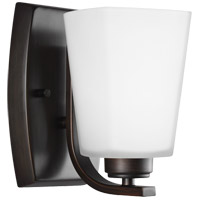 Sea Gull 4123001-710 Waseca 1 Light 5 inch Burnt Sienna Wall Bath Fixture Wall Light