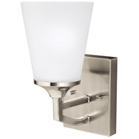 Hanford 1 Light 5 inch Brushed Nickel Wall Bath Wall Light in Standard