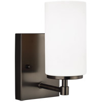 Sea Gull 4124601-778 Alturas 1 Light 4 inch Brushed Oil Rubbed Bronze Wall Bath Fixture Wall Light