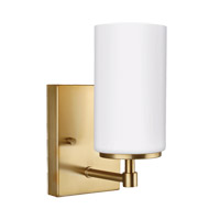 Sea Gull 4124601EN3-848 Alturas 1 Light 4 inch Satin Bronze Wall Bath Fixture Wall Light