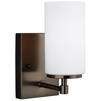 Sea Gull 4124601EN3-778 Alturas LED 4 inch Brushed Oil Rubbed Bronze Wall Bath Fixture Wall Light