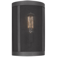 Sea Gull 4128501-12 Gereon 1 Light 8 inch Black Wall Bath Fixture Wall Light