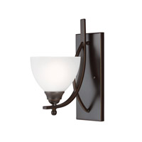 Sea Gull Vitelli 1 Light Bath Sconce in Autumn Bronze 4131401BLE-715