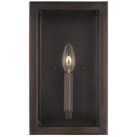 Sea Gull 4134501-710 Moffet Street 1 Light 7 inch Burnt Sienna Wall Bath Sconce Wall Light
