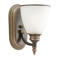 Laurel Leaf 1 Light 6 inch Estate Bronze Bath Vanity Wall Light