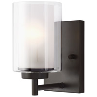 Sea Gull 4137301EN3-782 Elmwood Park 1 Light 5 inch Heirloom Bronze Bath Vanity Wall Light