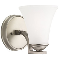 Sea Gull Somerton 1 Light Bath Sconce in Antique Brushed Nickel 41375BLE-965