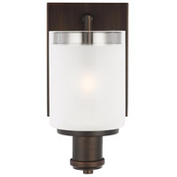 Sea Gull 4139801EN3-710 Norwood 1 Light 5 inch Burnt Sienna Wall Bath Sconce Wall Light