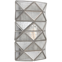 Sea Gull 4141401-965 Harambee 1 Light 8 inch Antique Brushed Nickel ADA Wall Sconce Wall Light Seeded Water Glass