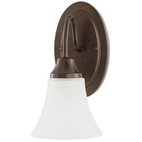 Sea Gull Holman 1 Light Wall Sconce in Bell Metal Bronze 41806-827