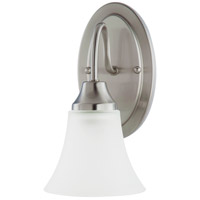 Sea Gull Holman 1 Light Wall Sconce in Brushed Nickel 41806-962 photo thumbnail