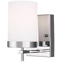 Sea Gull 4190301EN3-05 Zire 1 Light 4 inch Chrome Bath Vanity Wall Light