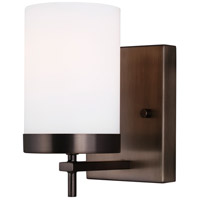 Sea Gull 4190301EN3-778 Zire 1 Light 4 inch Brushed Oil Rubbed Bronze Bath Vanity Wall Light
