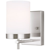Sea Gull 4190301EN3-962 Zire 1 Light 4 inch Brushed Nickel Bath Vanity Wall Light