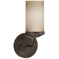 Sea Gull Sfera 1 Light Bath Sconce in Autumn Bronze 4191401-715