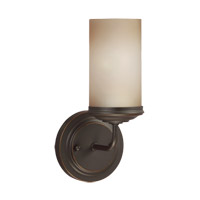Sea Gull 4191401EN3-715 Sfera 1 Light 5 inch Autumn Bronze Wall Bath Fixture Wall Light