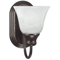 Windgate 1 Light 6 inch Heirloom Bronze Bath Sconce Wall Light in Fluorescent