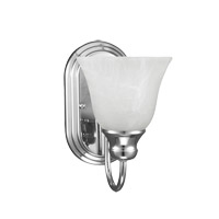 Sea Gull 41939EN3-05 Windgate 1 Light 6 inch Chrome Wall Bath Fixture Wall Light