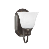 Windgate 1 Light 6 inch Heirloom Bronze Bath Vanity Light Wall Light