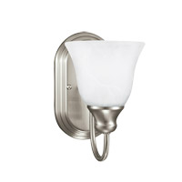 Windgate 1 Light 6 inch Brushed Nickel Wall Bath Fixture Wall Light