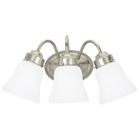 Westmont 3 Light 17 inch Brushed Nickel Bath Vanity Wall Light