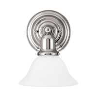 Sussex 1 Light 8 inch Chrome Bath Vanity Light Wall Light