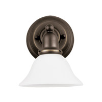 Sea Gull 44060EN3-782 Sussex 1 Light 8 inch Heirloom Bronze Wall Bath Fixture Wall Light