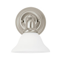 Sussex 1 Light 8 inch Brushed Nickel Bath Vanity Light Wall Light