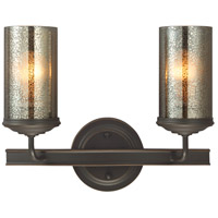 Sfera 2 Light 14 inch Autumn Bronze Bath Vanity Wall Light in Standard