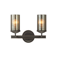 Sfera 2 Light 14 inch Autumn Bronze Wall Bath Fixture Wall Light