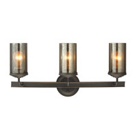Sfera 3 Light 24 inch Autumn Bronze Bath Vanity Wall Light in Fluorescent