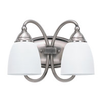 Sea Gull Lighting Montclaire 2 Light Bath Vanity in Antique Brushed Nickel 44105-965