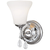 West Town 1 Light 6 inch Chrome Bath Light Wall Light in Fluorescent