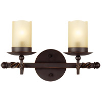 Trempealeau 2 Light 14 inch Roman Bronze Bath Light Wall Light